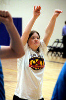Special Olympians Play Basketball at Breck