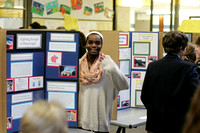 Seventh-Grade Childhood Hunger Project Museum Night