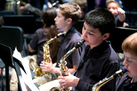 Middle School Band: Concert Rehearsal