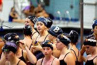 Girls swim & dive at Maroon and Gold Meet