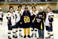 Boys Hockey Senior Night 2012