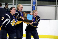 Girls Hockey Wins Section 5