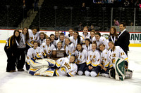 Girls Hockey State Tourney-Third Place