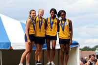 Girls Track Takes Third at State