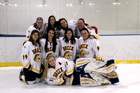 Girls Hockey Senior Night