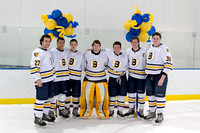 Boys Hockey Senior Night 2015