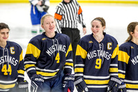 Breck Girls Hockey Section Final