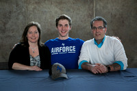 Dalton Weigel signs with Air Force Academy