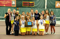 Girls Tennis Team Is Section 4A Champions!
