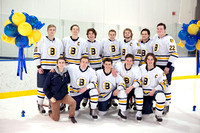 Boys Hockey Senior Night 2017
